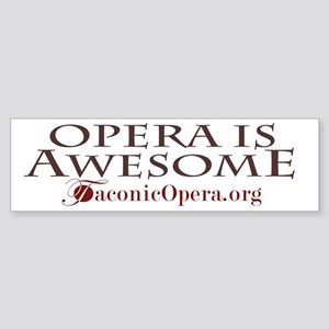 I love Opera Sticker (Bumper)