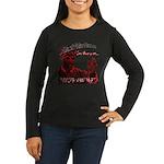 Don C Women's Long Sleeve Dark T-Shirt