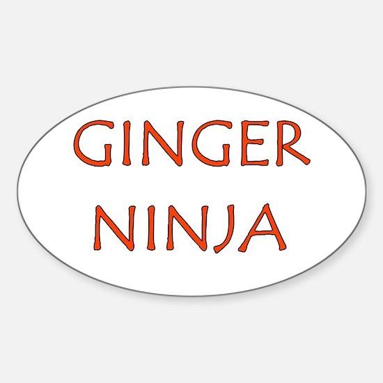 Ginger Ninja Decal