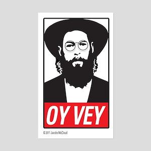 Oy-Vey Label Sticker