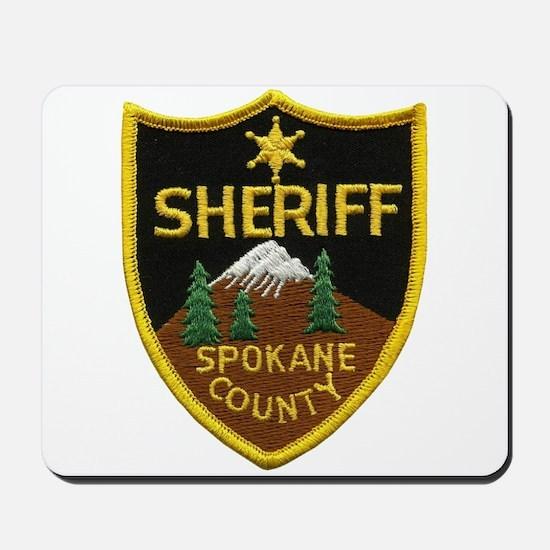 Spokane County Sheriff Mousepad
