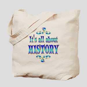 About History Tote Bag