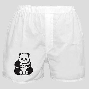 Ukulele Panda Boxer Shorts