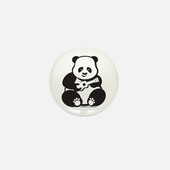 Ukulele Panda Mini Button
