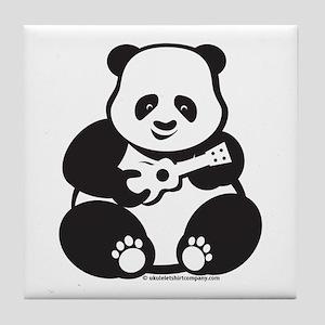 Ukulele Panda Tile Coaster