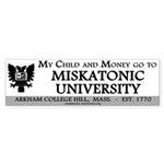 Bumpersticker: Child and Money go to MU (10pk)