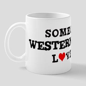 Someone in Western Sahara Mug