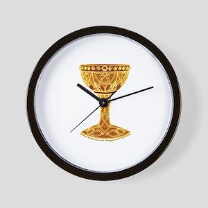 The Celtic Grail Wall Clock