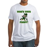 Who's Your Paddy? Fitted T-Shirt