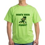 Who's Your Paddy? Green T-Shirt