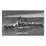 USS BIGELOW Sticker (Rectangle)