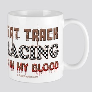 Dirt Track Racing Blood Mug