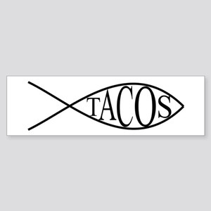 Fish Tacos Sticker (Bumper)