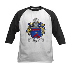 Stagni Coat of Arms Kids Baseball Jersey