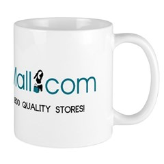 Really Big Mall Beverage Mugs, Regular (11 Oz)