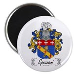 Spezzani Family Crest Magnet