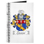 Spezzani Family Crest Journal