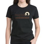 Happy Tails Dog Rescue Women's Dark T-Shirt