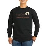 Happy Tails Dog Rescue Long Sleeve Dark T-Shirt