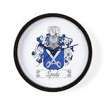 Spada Family Crest Wall Clock