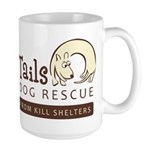 Happy Tails Dog Rescue Large Mug