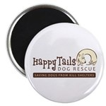 "Happy Tails Dog Rescue 2.25"" Magnet (10 pack)"