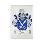 Spada Family Crest Rectangle Magnet