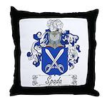 Spada Family Crest Throw Pillow