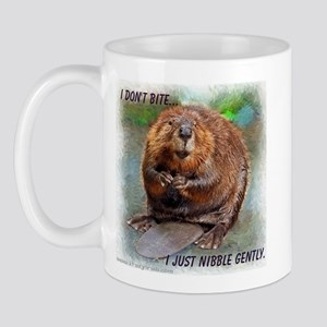 Nibble Gently Beaver Mug