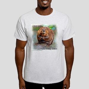 Nibble Gently Beaver Light T-Shirt