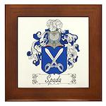 Spada Family Crest Framed Tile