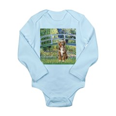 Bridge-Aussie Shep (#5) Long Sleeve Infant Bodysui