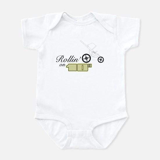 "Rollin' on 10"" (Infant Bodysuit)"