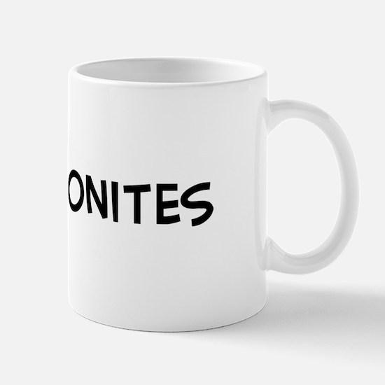 I Love Mennonites Mug