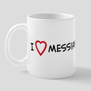 I Love Messianic Judiasm Mug