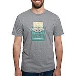 Margaret Grey Smart Mens Tri-Blend T-Shirt