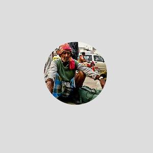 Delhi man Mini Button