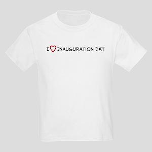 I Love Inauguration Day Kids T-Shirt