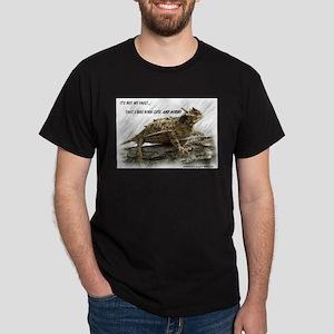 Krazy Irish Horny Toad Dark T-Shirt