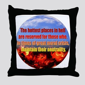 Hottest Places Throw Pillow