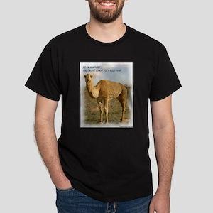 Humphrey The Humpless Camel Dark T-Shirt