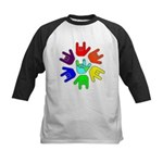 Love of Many Colors Kids Baseball Jersey