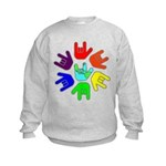 Love of Many Colors Kids Sweatshirt