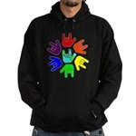 Love of Many Colors Hoodie (dark)