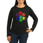 Love of Many Colors Women's Long Sleeve Dark T-Shi