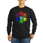 Love of Many Colors Long Sleeve Dark T-Shirt