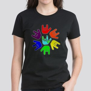 Love of Many Colors Women's Dark T-Shirt