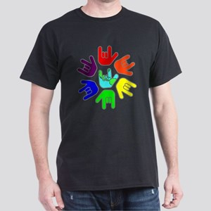 Love of Many Colors Dark T-Shirt