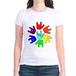 Love of Many Colors Jr. Ringer T-Shirt