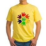 Love of Many Colors Yellow T-Shirt